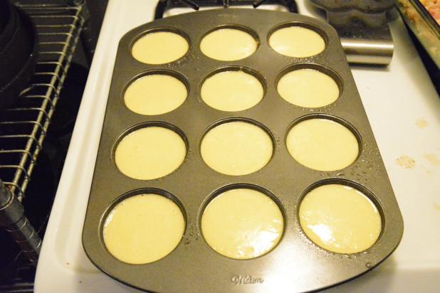 Almond Bun Minis in Whoopie Pie Pan