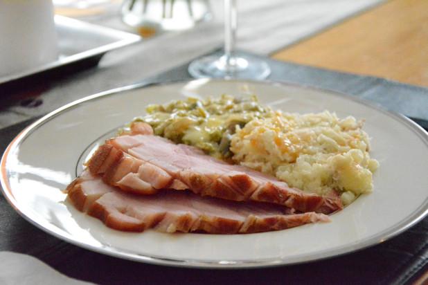 Low Carb Bourbon Glazed Ham