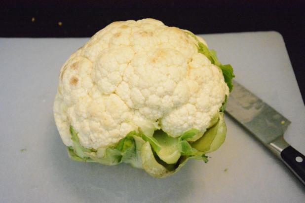 Whole Head of Cauliflower