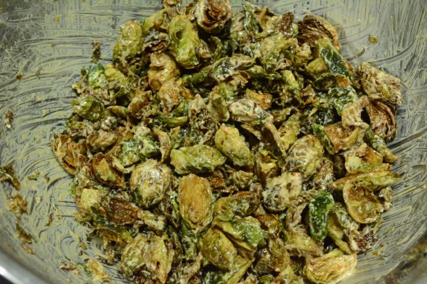 Mixed Brussels Sprouts