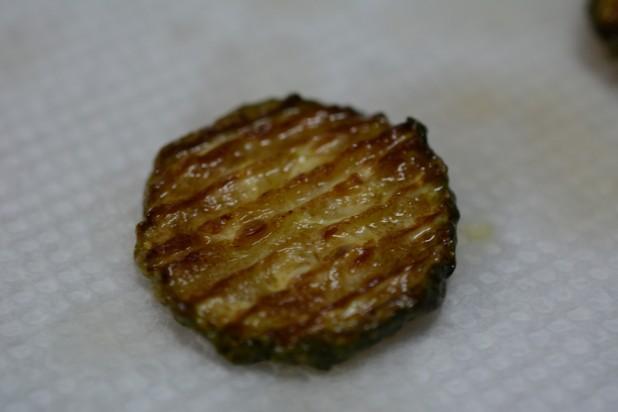 Fried Ruffle Zucchini