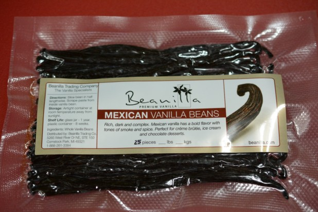 Mexican Vanilla Bean Package