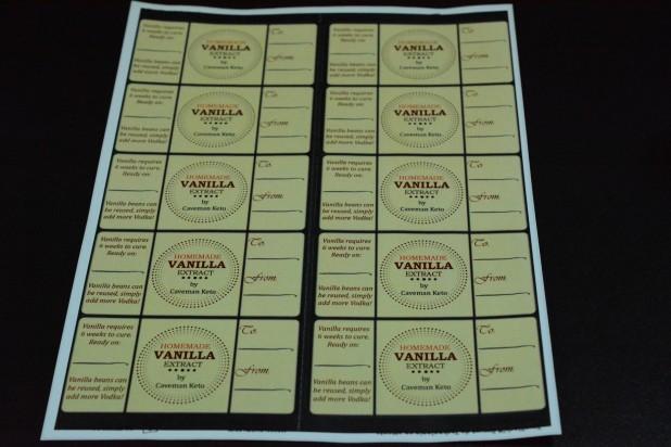 Vanilla Labels