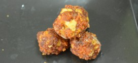 Fried Cheesy Sausage Balls