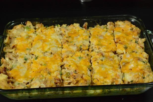 Finished Cauliflower Casserole