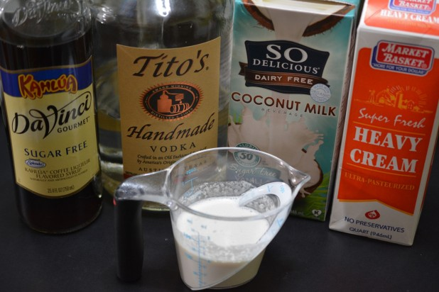 White Russian Poptail Ingredients