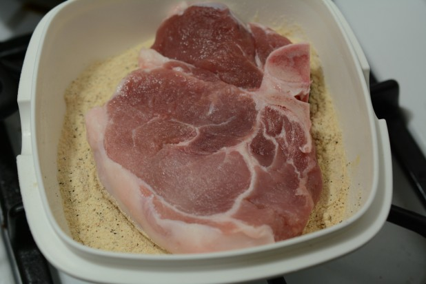 Coating Pork Chops