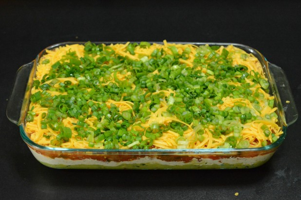 Finished 5-layer Keto Dip