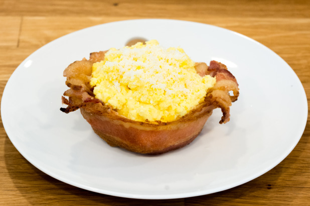 Bacon Bowl with Eggs