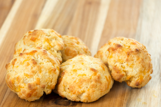 Cheddar Carbquik Biscuits