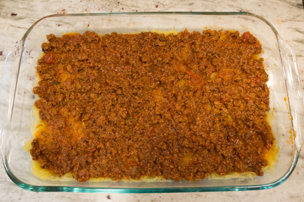 Spaghetti Squash Lasagna Layer Two