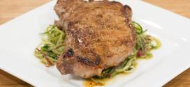 Pesto Spirals with Steak