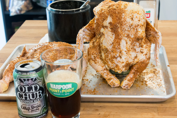 Chicken on Beer Can