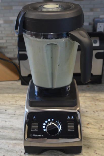 Vitamix Recipe for Avocado Smoothie Blended
