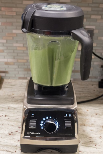 Broccoli Soup in the Vitamix