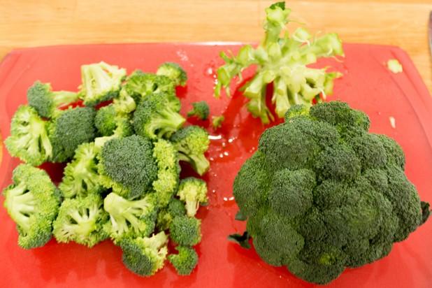 Cutting up the Broccoli