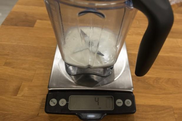 Measuring Cream for Low Carb Ice Cream