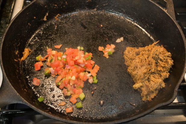 Salsa with Pork Carnitas